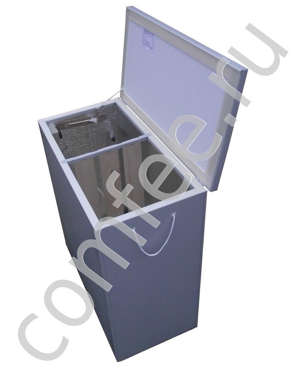 """Балконный погребок 3 """"hot-box"""" металлизированный, с вентиляц."""