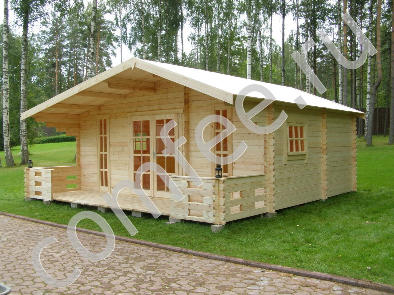 Строительство дачных домиков из любых материалов, индивидуальные проекты и подход.